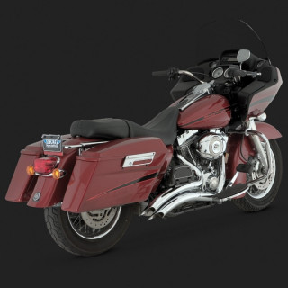 VANCE HINES BIG RADIUS CHROME HARLEY TOURING