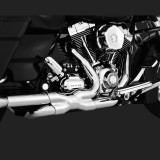 COLLETTORI VANCE HINES CROMATI POWER DUAL HARLEY TOURING 09-16 - DETAIL 2