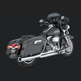 VANCE HINES PRO PIPE CHROME HARLEY TOURING EXHAUST 99-08