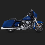 VANCE HINES HI-OUTPUT SLIP-ON MUFFLERS FOR HARLEY TOURING 17-18 - SIDE