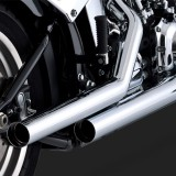 SCARICHI VANCE HINES STRAIGHTSHOTS CHROME PER HARLEY SOFTAIL 00-11 - DETAIL