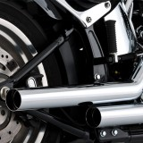 SCARICHI VANCE HINES STRAIGHTSHOTS CHROME PER HARLEY SOFTAIL 00-11 - DETAIL 2