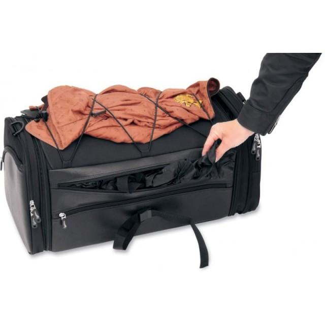 SADDLEMEN DELUXE RACK BAG TR3300DE - DETAIL