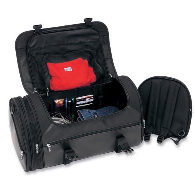 SADDLEMEN DELUXE RACK BAG TR3300DE - OPEN