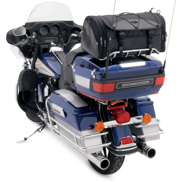 SADDLEMEN DELUXE RACK BAG TR3300DE - HARLEY DAVIDSON TOURING