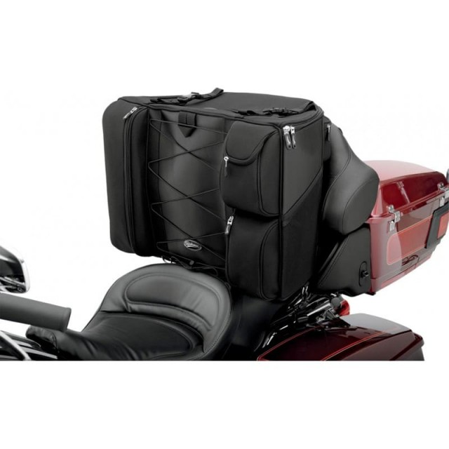 SADDLEMEN BR4100 DRESSER BACK SEAT BAG - TOURING