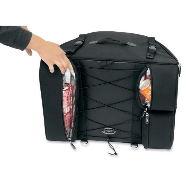 BORSA DA SELLA SADDLEMEN BR4100 DRESSER BACK SEAT - DETTAGLIO