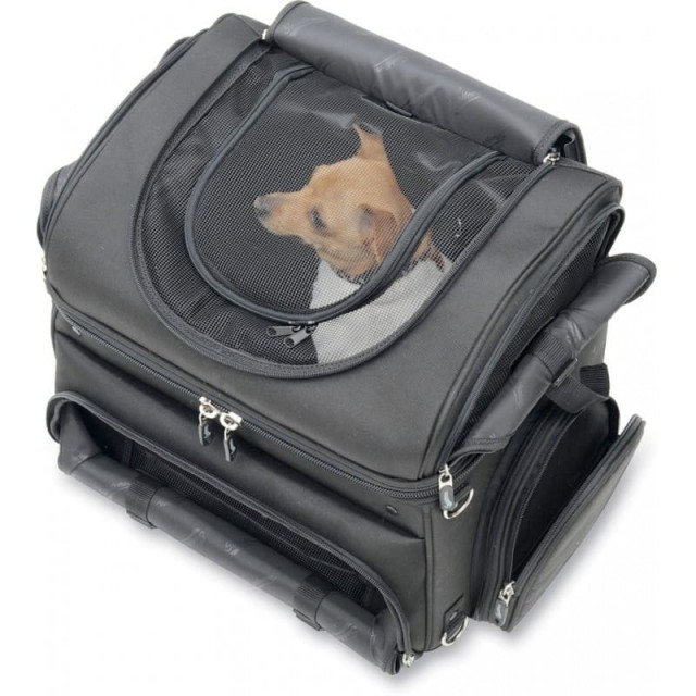 BORSA ANIMALI SADDLEMEN PC3200C CONVERTIBLE PET CARRIER - CANE