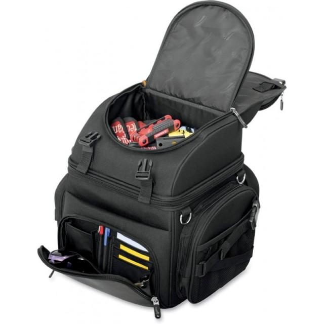 SEDDLEMEN BACK SEAT SISSY BAR BAG - OPEN