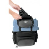 SEDDLEMEN BACK SEAT SISSY BAR BAG - UPPER FASTENING