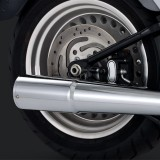 VANCE HINES PRO PIPE CHROME 2-INTO-1 EXHAUST SYSTEM HARLEY SOFTAIL 86-11 - DETAIL 2