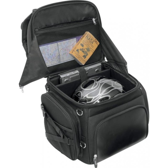 BORSA SADDLEMEN BR3400 BACK SEAT SISSY BAR BAG - VANO PRINCIPALE