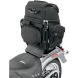 SADDLEMEN BR3400 BACK SEAT SISSY BAR BAG - SISSY BAR MOUNT 3