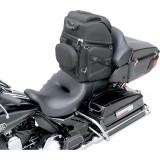 SADDLEMEN BR3400 BACK SEAT SISSY BAR BAG - SADDLE MOUNT 3