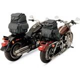 SADDLEMEN BR1800EX BACK SEAT SISSY BAR BAG - MOTORCYCLE MOUNT
