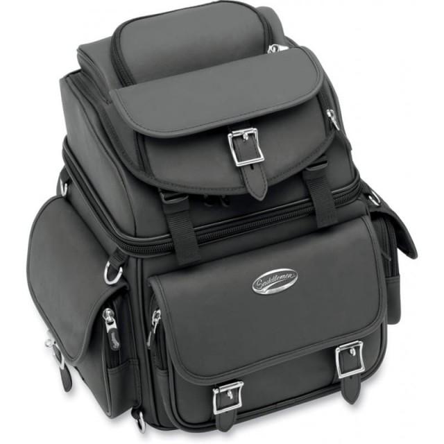 SADDLEMEN BR1800EX BACK SEAT SISSY BAR BAG