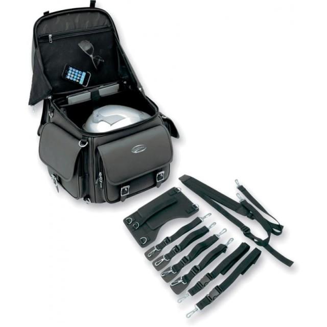 SADDLEMEN BR340EX BACK SEAT SISSY BAR BAG - ACCESSORIES