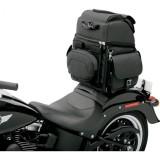 SADDLEMEN BR340EX BACK SEAT SISSY BAR BAG - MOTORCYCLE MOUNT