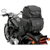 BORSA SADDLEMEN BR340EX BACK SEAT SISSY BAR BAG - FISSAGGIO MOTO 2