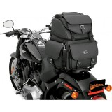 SADDLEMEN BR340EX BACK SEAT SISSY BAR BAG - MOTORCYCLE MOUNT 2