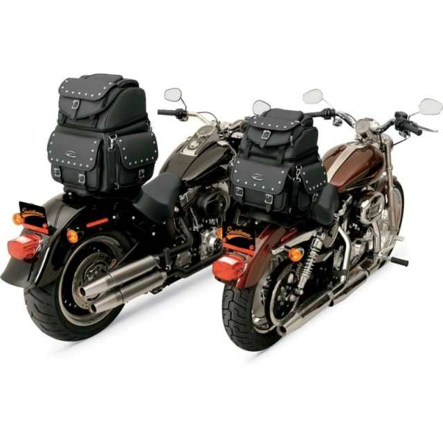 BORSA SADDLEMEN BR1800EXS BACK SEAT SISSY BAR BAG - FISSAGGIO MOTO