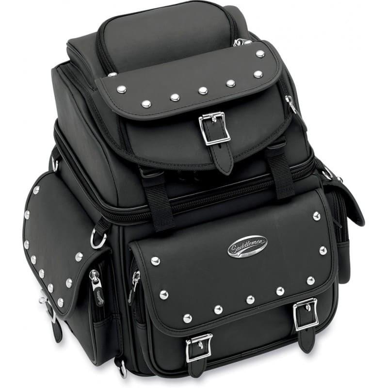 SADDLEMEN BR1800EXS BACK SEAT SISSY BAR BAG