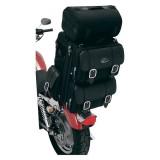 SADDLEMEN S3200DE DELUXE EXPANDABLE SISSY BAR BAG - MOTORCYCLE MOUNT