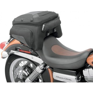 SADDLEMEN TUNNEL TAIL BAG TS1450R - CUSTOM BIKE TAIL MOUNT