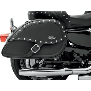 SADDLEMEN DESPERADO RIGID-MOUNT SPECIFIC-FIT TEARDROP SADDLEBAGS XL SPORTSTER 94-17