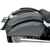 SADDLEMEN CRUIS'N DELUXE SLANT SADDLEBAG SET - MOTORCYCLE MOUNT