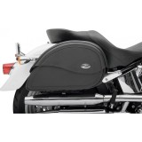SADDLEMEN TEARDROP CRUIS'N JUMBO SIDEBAGS - MOTORCYCLE MOUNT