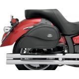 SADDLEMEN TEARDROP CRUIS'N LARGE SIDEBAGS - MOTORCYCLE MOUNT