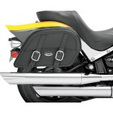 SADDLEMEN EXPRESS DRIFTER CUSTOM FIT JUMBO SIDEBAGS - MOTORCYCLE MOUNT