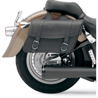 SADDLEMEN HIGHWAYMAN SLANT LARGE SADDLEBAGS