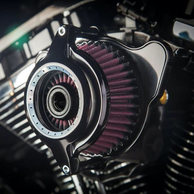 FILTRO ARIA RSD POWER BLUNT AIR CLEANER CONTRAST CUT 2109 - DETTAGLIO 2