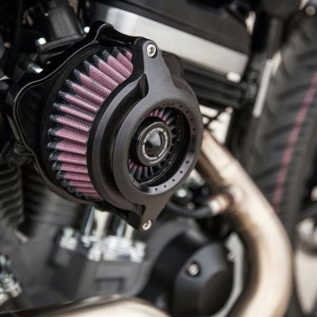 RSD POWER BLUNT AIR CLEANER BLACK OPS 2109 - DETAIL