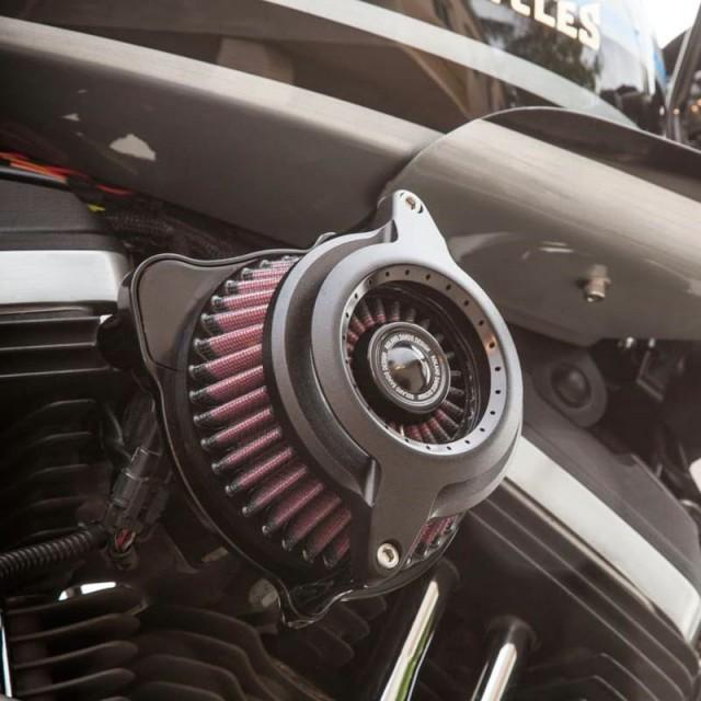 RSD POWER BLUNT AIR CLEANER BLACK OPS 2109 - DETAIL 2