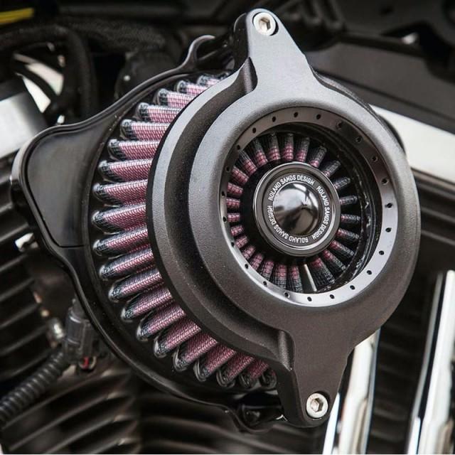 RSD POWER BLUNT AIR CLEANER BLACK OPS 2109 - DETAIL 3