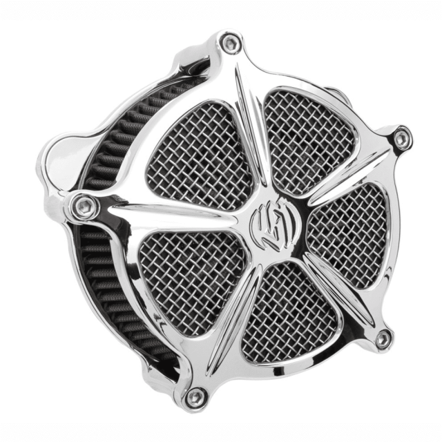 FILTRO ARIA RSD VENTURI SPEED 5 AIR CLEANER CHROME 2001