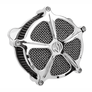 FILTRO ARIA RSD VENTURI SPEED 5 AIR CLEANER CHROME 2000