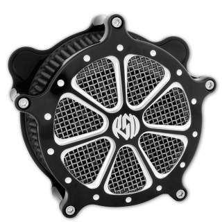 RSD VENTURI SPEED 7 AIR CLEANER PLATINUM CUT 2005