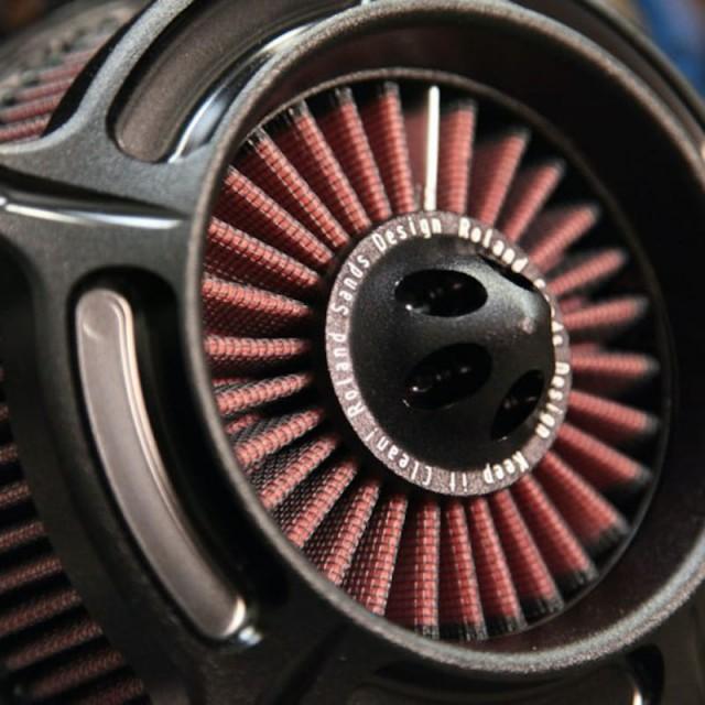 FILTRO ARIA RSD TURBINE AIR CLEANER BLACK OPS 2038 - DETAIL