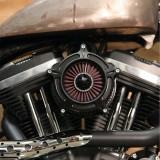 RSD TURBINE AIR CLEANER BLACK OPS 2039 - DETAIL 2