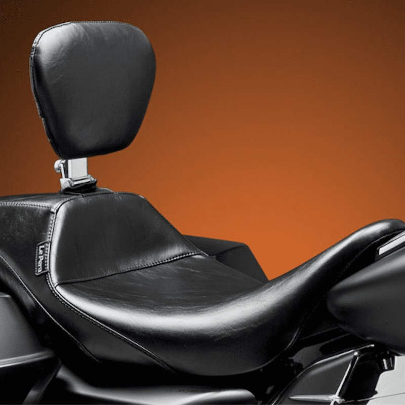 LE PERA OUTCAST SEAT WITH BACKREST HARLEY TOURING 08-21