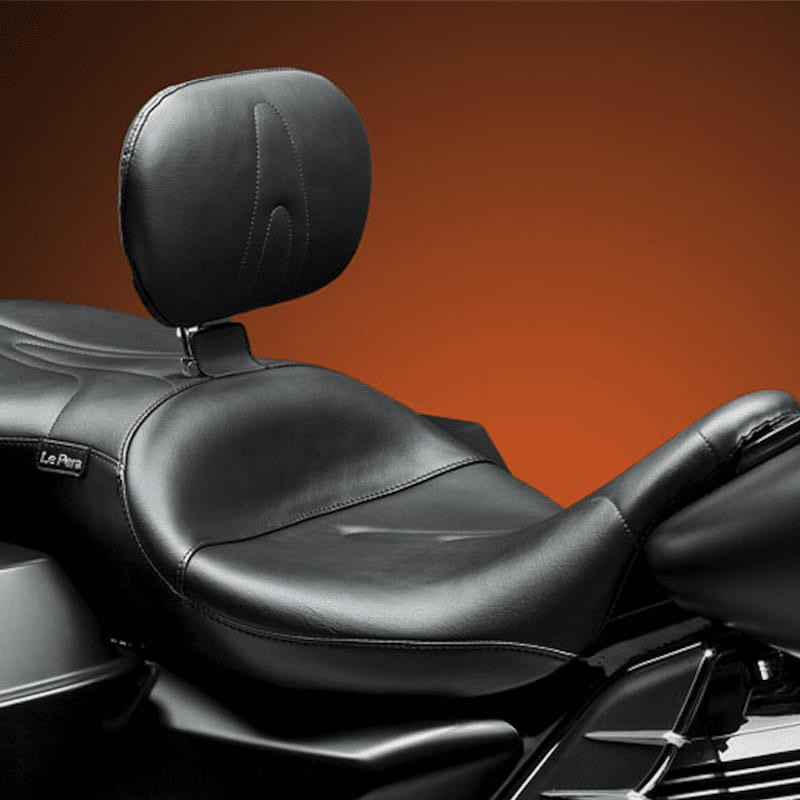 LE PERA RT66 SEAT WITH BACKREST HARLEY TOURING 08-21