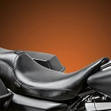 LE PERA SILHOUETTE SMOOTH 2 UP SEAT WITH BACKREST HARLEY TOURING 08-21 - REMOVED BACKREST