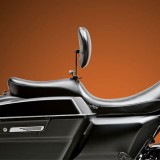 LE PERA SILHOUETTE SMOOTH 2 UP SEAT WITH BACKREST HARLEY TOURING 08-21 - SIDE