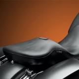 SELLA LE PERA MAVERICK SMOOTH SEAT CON SCHIENALINO HARLEY TOURING 08-21 - SCHIENALINO RIMOSSO