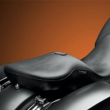 SELLA LE PERA MAVERICK SMOOTH LONG LEGS SEAT CON SCHIENALINO HARLEY TOURING 08-19 - SCHIENALINO RIMOSSO