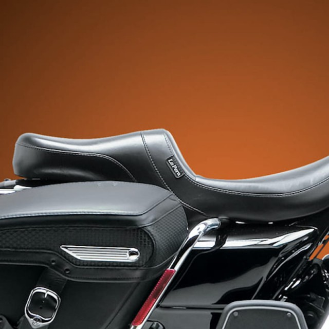 LE PERA DAYTONA TWO UP SMOOTH SEAT HARLEY TOURING 08-19 - SIDE